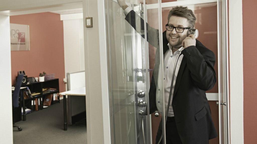 - Når man selger 90 dusjkabinett på telefonen på 2 dager, styrker deg meg i troen på at TM fortsatt er en målrettet, aktuell og kostnadseffektiv kanal også i 2012, sier daglig leder Sverre Strøm Torjuul.