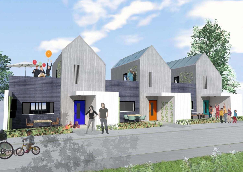 PASSIVHUS: Når de nye husene som skal bygges i Stenbråtveien betegnes som passivhus, betyr det at de blir energigjerrige.