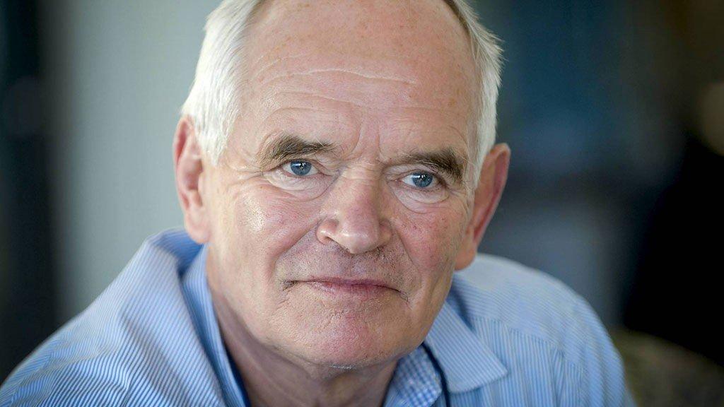 Trond Mohn og sønnen Fredrik gir 70 millioner kroner til Haukeland.