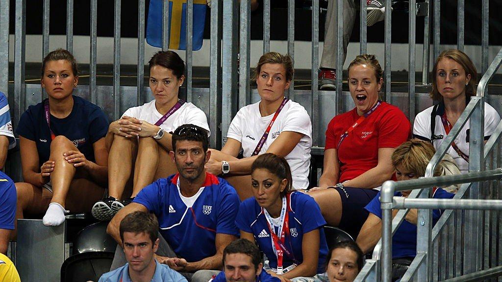 Amanda Kurtovic, Kari Mette Johansen, Linn-Kristin Riegelhuth, Tonje Nøstvold og Karoline Dyhre Breivang.