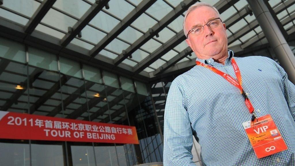 BEKYMRET: UCI-president Pat McQuaid frykter konflikten mellom Kina og Japan også vil ramme Tour of Beijing neste måned.