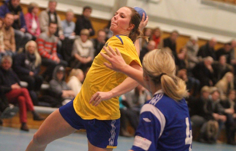 FEM MÅL: Ellen Nordal scoret fem mål i søndagens sterke borteseier mot Selbu.