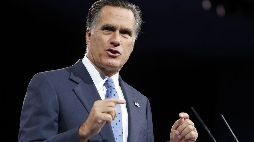 Former U.S. presidential candidate Mitt Romney speaks to the Conservative Political Action Conference (CPAC) in National Harbor, Maryland, March 15, 2013.