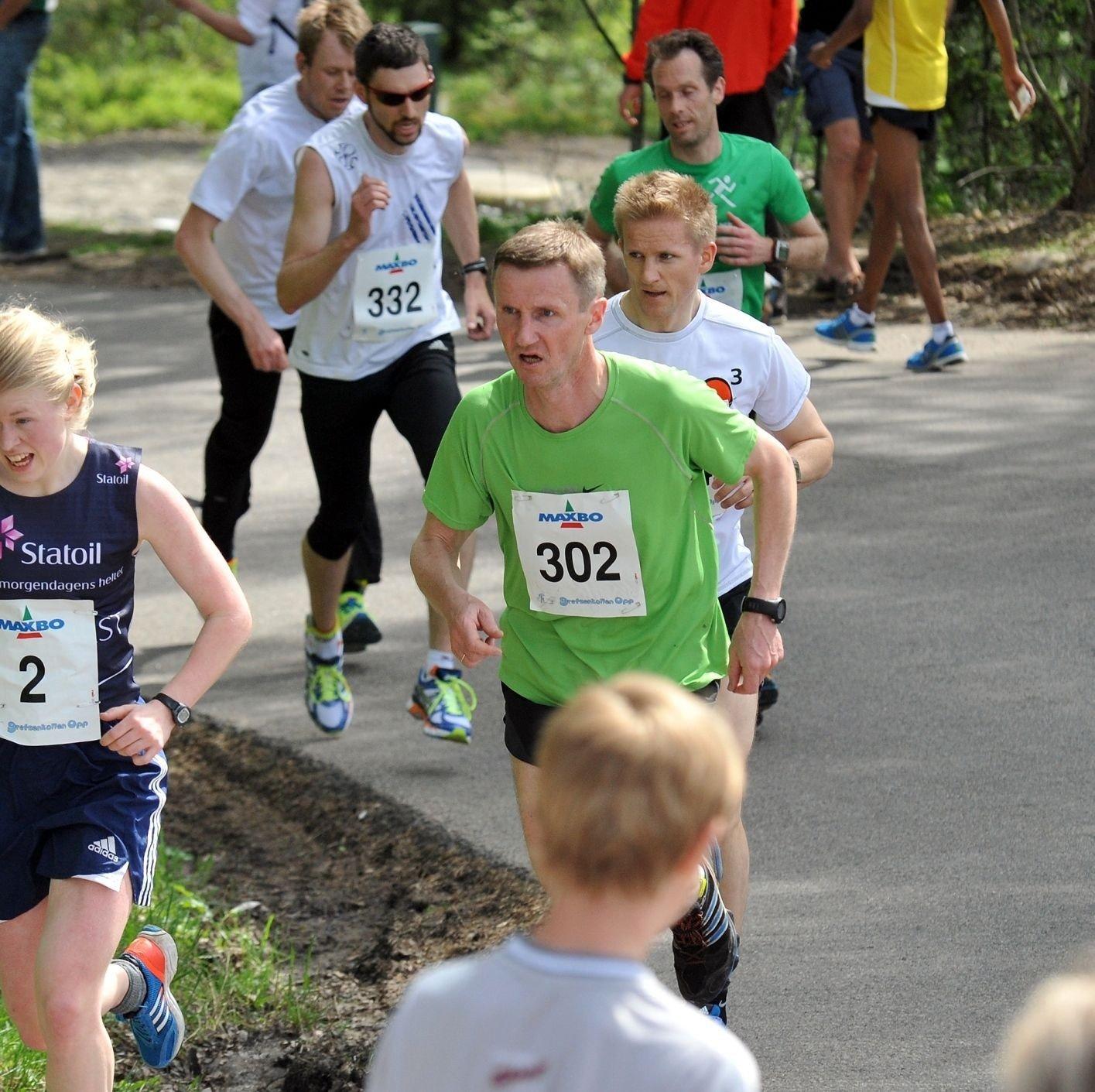 Det var for første gang over 400 løpere som fullførte Grefsenkollen Opp.