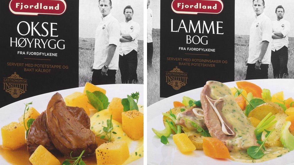 FJORDLAND lanserer mat utviklet av Gastronomisk Institutt.