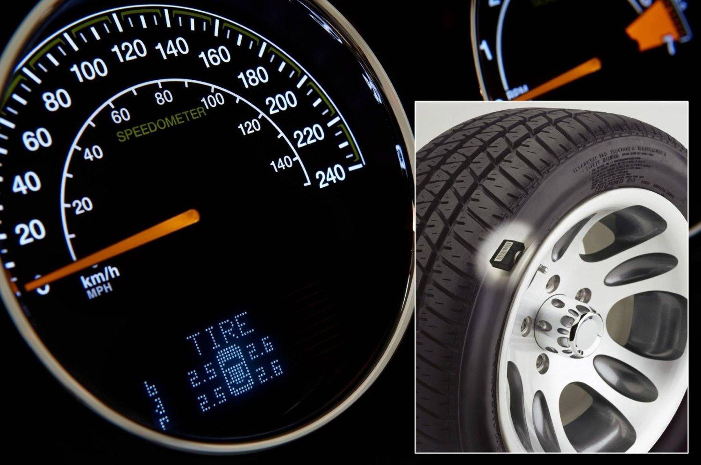 I november neste år blir det påbudt med TPMS i alle nye biler.