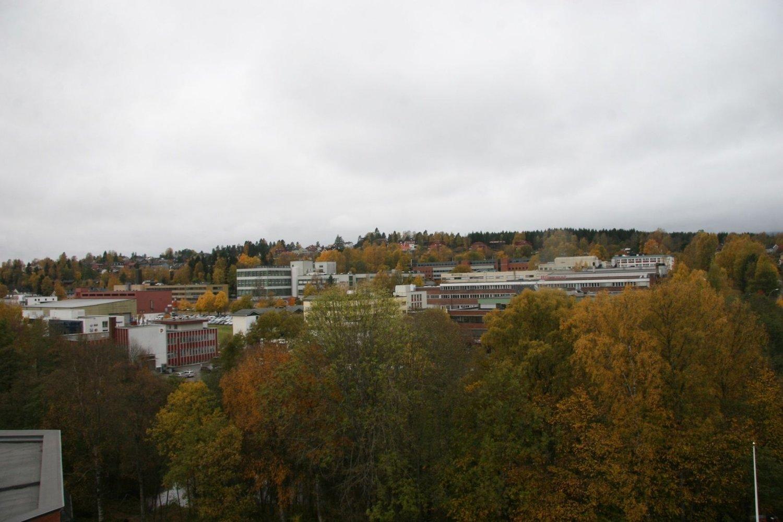 FRYSJAPARKEN: Det planlegges mer enn 63.000 nye kvadratmeter på Frysja, og mest boliger.