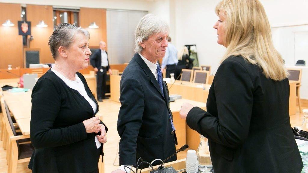 OSLO TINGRETT: Totalt 19 gutter og menn er tiltalt for en rekke ran i den såkalte barneranssaken, som startet i Oslo tingrett 7. januar.