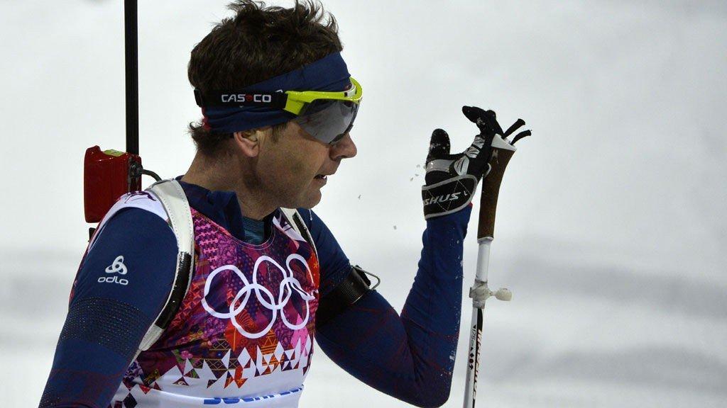 KÅRET TIL BESTE MANNLIGE UTØVER: Ole Einar Bjørndalen til topps i kåring.