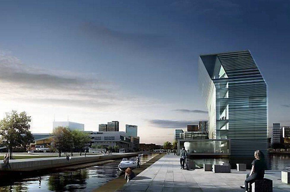 Nå er det klart at Lambda vil koste 2,05 milliarder, etter at kommunen nå har regnet med tomtekostnad, infrastruktur og plan/design-kostnader, ifølge søknaden de har sendt til Kulturdepartementet.