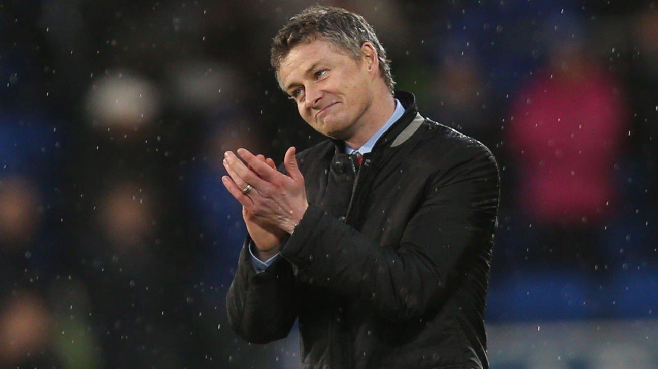 Cardiff-manager Ole Gunnar Solskjær bekymrer seg ikke for et eventuelt nedrykk til nivå 2 i engelsk fotball. Foto: Gareth Everett / Huw Evans Picture Agency / NTB scanpix