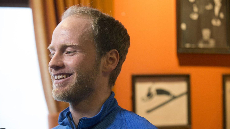 EN AV FAVORITTENE: Martin Johnsrud Sundby er en av dem som kan vinne femmila i Holmenkollen lørdag.