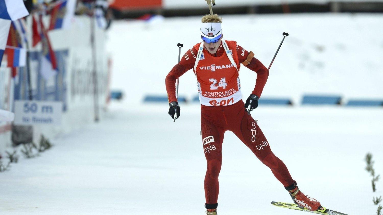 GARANTERER INGENTING: Johannes Thingnes Bø lover ingenting før verdenscupavslutningen i Holmenkollen.