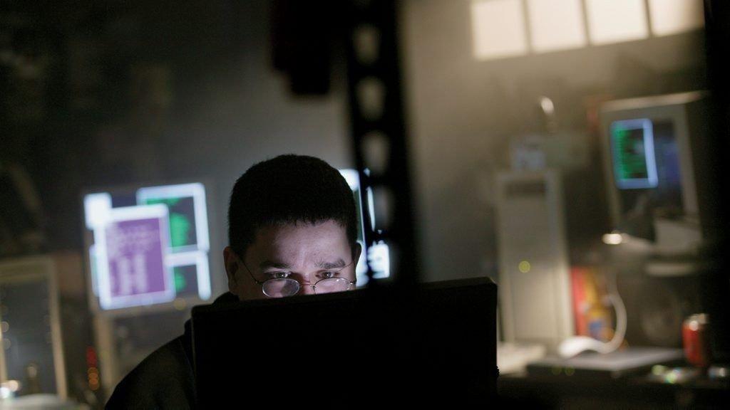 Illustrasjonsbilde hacker.