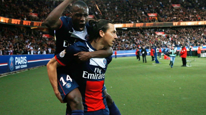 MÅLGENERATOR: Etter overgangen til den PSG i 2012, har Zlatan Ibrahimovic banket inn mål jevnt og trutt.
