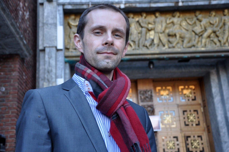 VIL SATSE: Mye som tyder på at byråd Hallstein Bjerkce (V) har gode nyheter for Furuset i morgen.