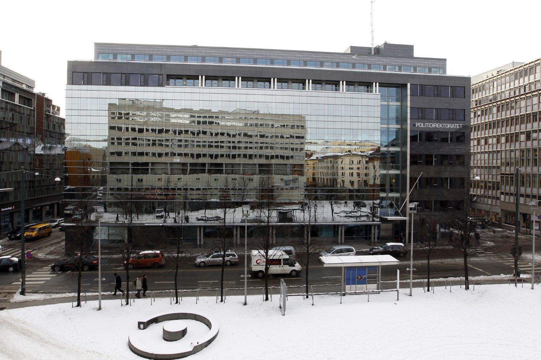 Lokalene til Politidirektoratet i Hammersborggata 12 i Oslo. Arkivfoto.