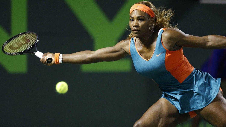 SKREMT: Verdensener Serena Williams synes det var nifst med bombelignende pakke.