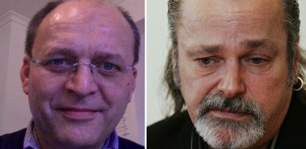 Eirik Jensen (t.h.) har bekreftet i politiavhør at han har mottatt penger fra Gjermund Cappelen.