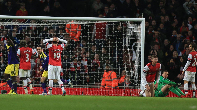 LANGT UNNA: Paul Scholes mener Arsenal har langt igjen før laget er en reell tittelutfordrer.