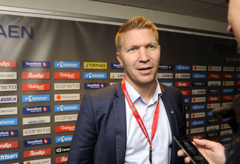 SPARKET: Vegard Berg Johansen må forlate jobben som direktør i Tromsø som følge av manglende tillit mellom ham og styret.