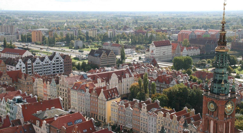 Den oppdiktede «klasseturen» til Polen var bare en guttetur. Bildet er fra Gdansk. (Arkivfoto)