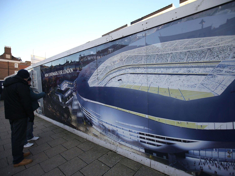 ØNSKER Å BYGGE OM WHITE HART LANE: Tottenham ser i disse dager etter et tilfluktssted for sesongen 2016/17, mens White Hart Lane ombygges til å ta 56 000 tilskuere.