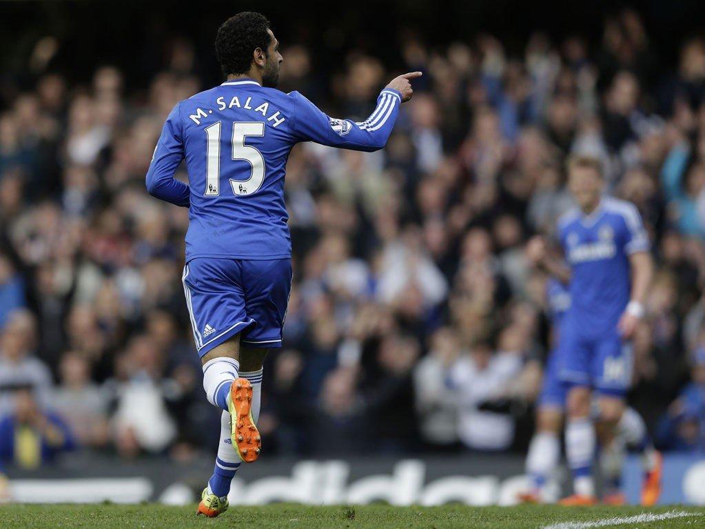 SENTRAL: Mohamed Salah var involvert i det meste da Chelsea fant tilbake til vinnersporet lørdag.
