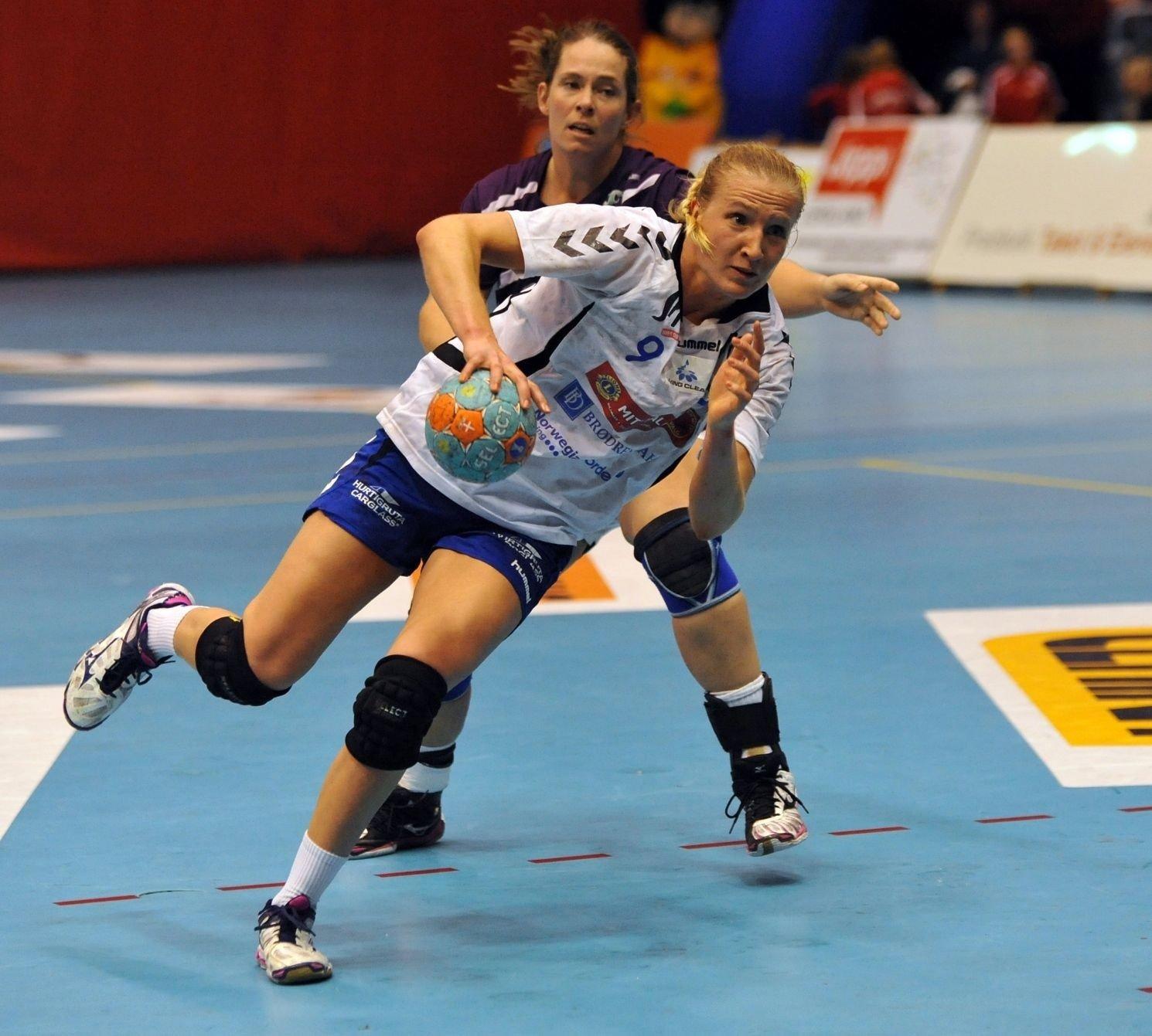 Henriette Svenningsen sto frem da Nordstrand slet angrepsmessig i første omgang.