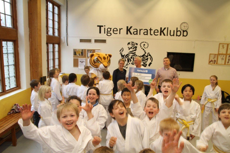 Tiger karateklubb på Kjelsås er én av fire mottakere av penger fra Oslofondets 1. runde. Neste søknadsfrist er 4. mai.