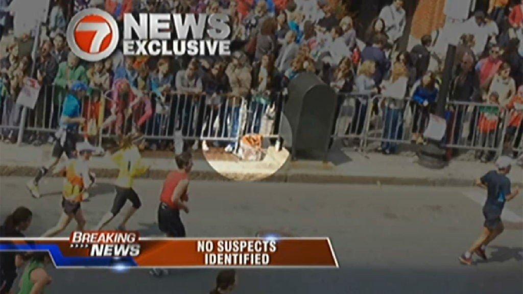 Illustrasjonsbilde: Bombene i Boston under maratonløpet i april 2013.