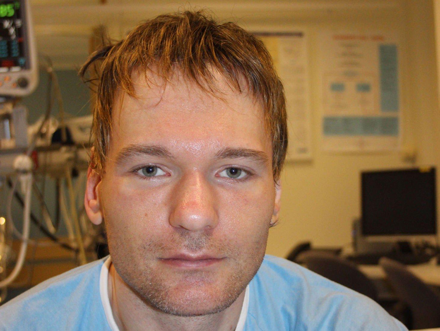 HUSKER INGENTING: Mannen uten hukommelse ble funnet i en snøfonn i Grenseveien i Oslo i desember i fjor. Nå bekrefter et tsjekkisk par at han er deres sønn.