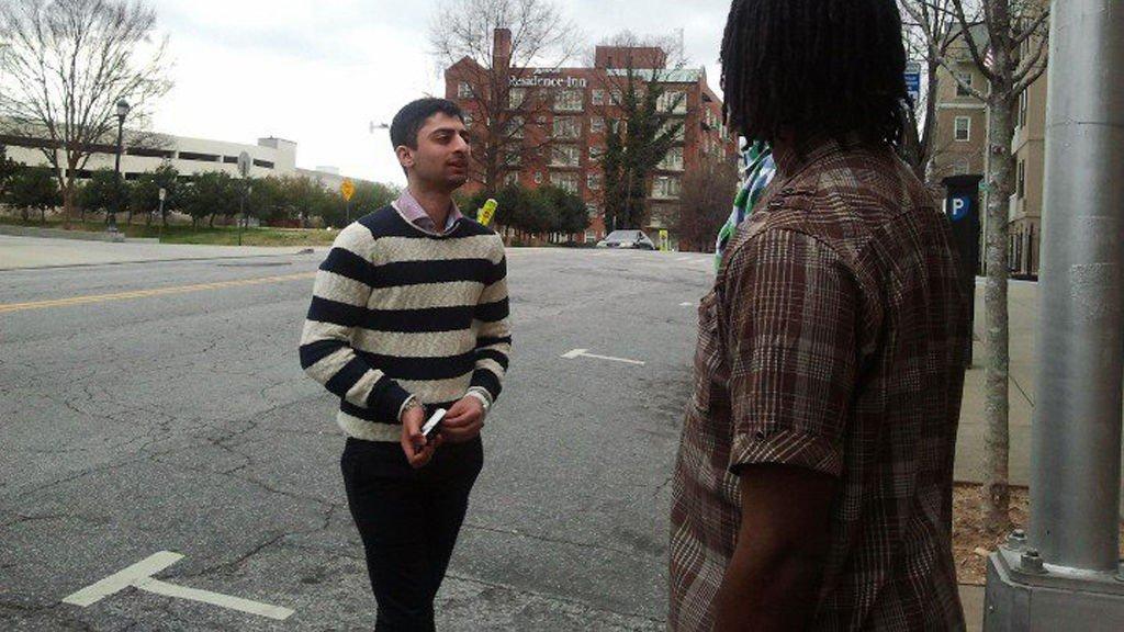 DEN GANG DA: Waleed Ahmed i USA før han ble pågrepet.