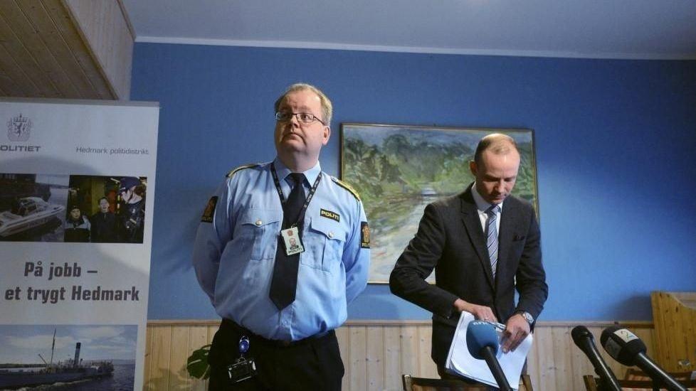 politiadvokat Henning Klauseie (t.v.) og førsteadvokat Tarjei Istad, Økokrim.