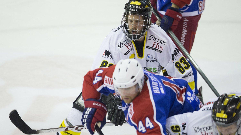 OILERS-SEIER: Stavanger Oilers ble et nummer for store for Vålerenga torsdag.
