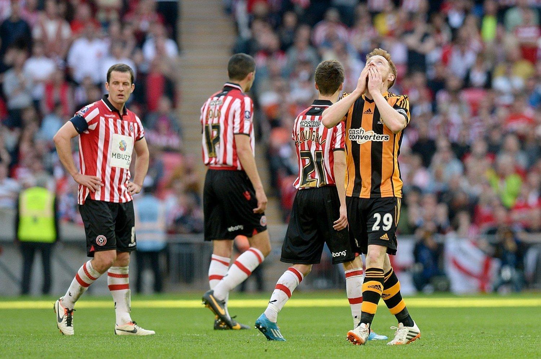 STERKE FØLELSER: Stephen Quinn spilte sju sesonger i Sheffield United. Søndag sendte han Hull til sin første FA-cupfinale noensinne - mot nettopp Sheffield United.