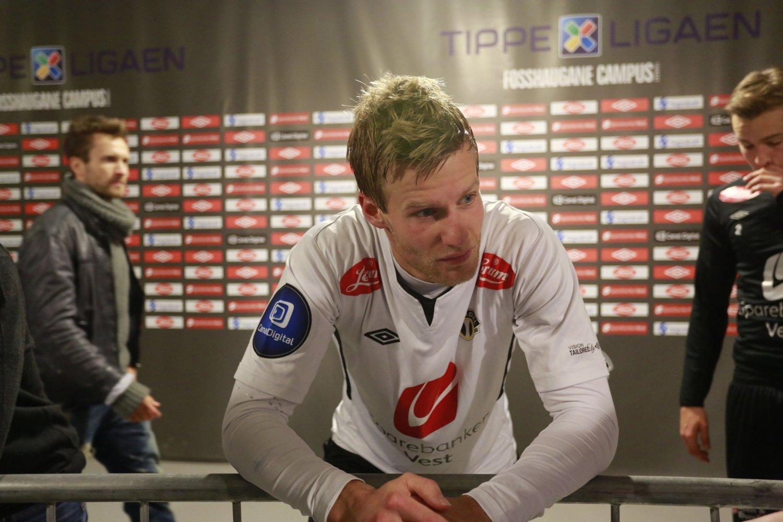 TAP: Ulrik Flo scoret to mål mot Bodø/Glimt, men Sogndal måtte likevel se seg slått med 4-2.