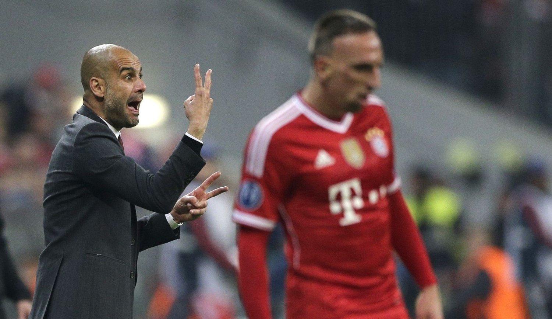 - SKJERP DERE: Josep Guardiola mener Bayern Münchens spillere må holde fokus oppe.