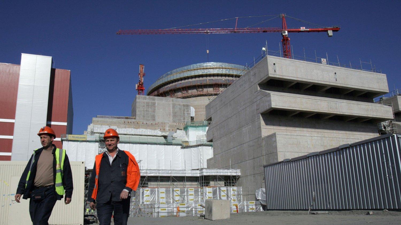 LEKKER: Atomkraftverket Okilutoto i Euraåminne tar inn vann. Produksjonen ved anlegget blir redusert til lekkasjen er utbedret.