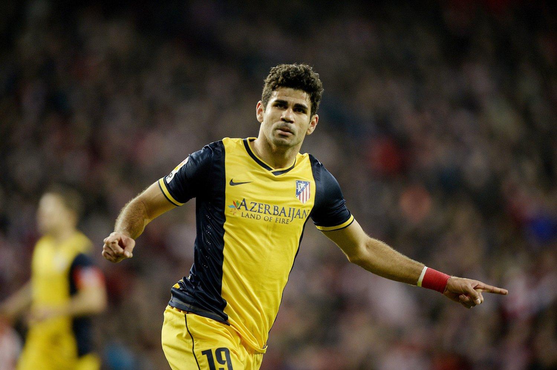 BEDRE ENN FRYKTET: Diego Costa og Atletico Madrid slapp unna med skrekken.