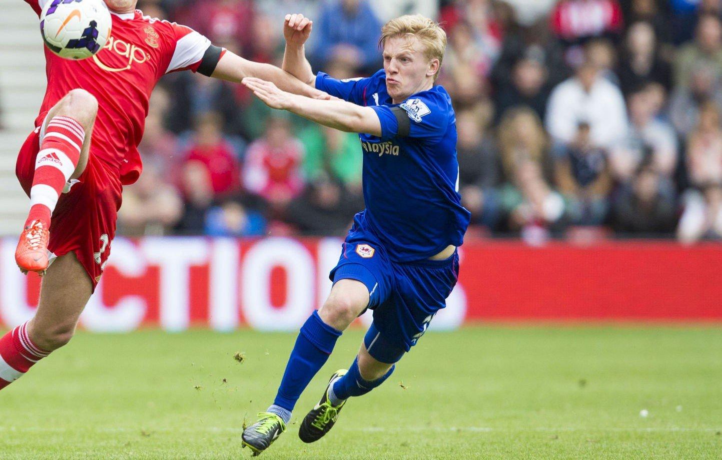 TRYGG: Mats Møller Dæhli er Cardiffs mest treffsikre med ballen i beina.