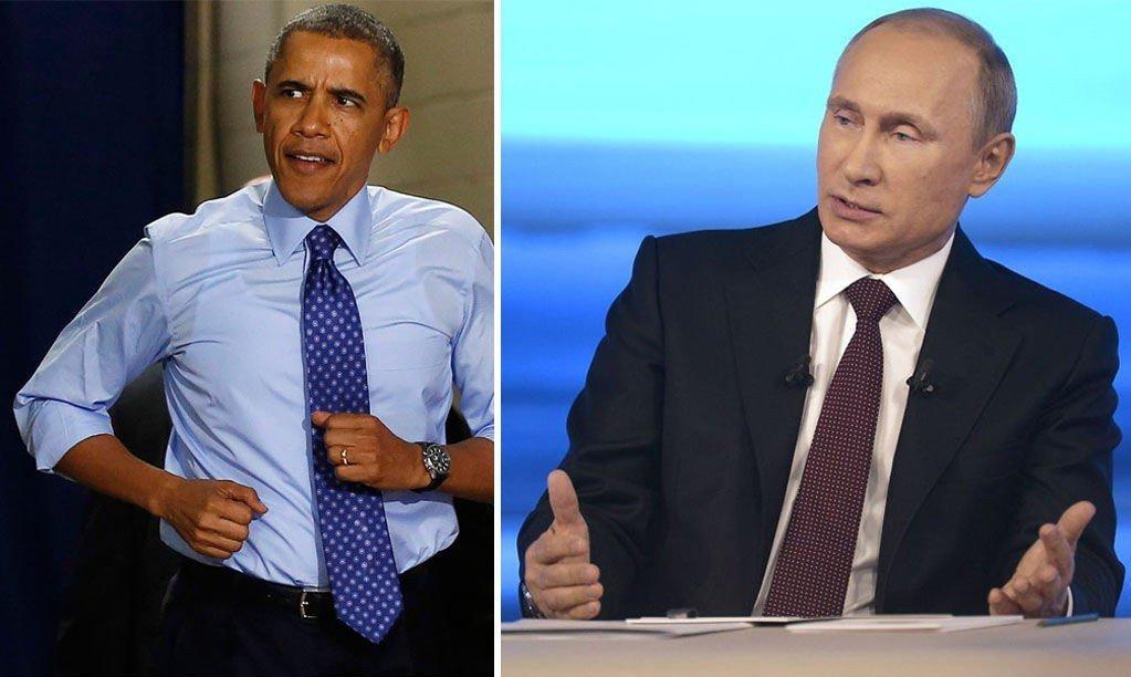 Obama og Putin er stort sett uenige om alt. Men da Putin fikk spørsmål om han tror Obama hadde reddet ham fra å drukte, svarte han ja.