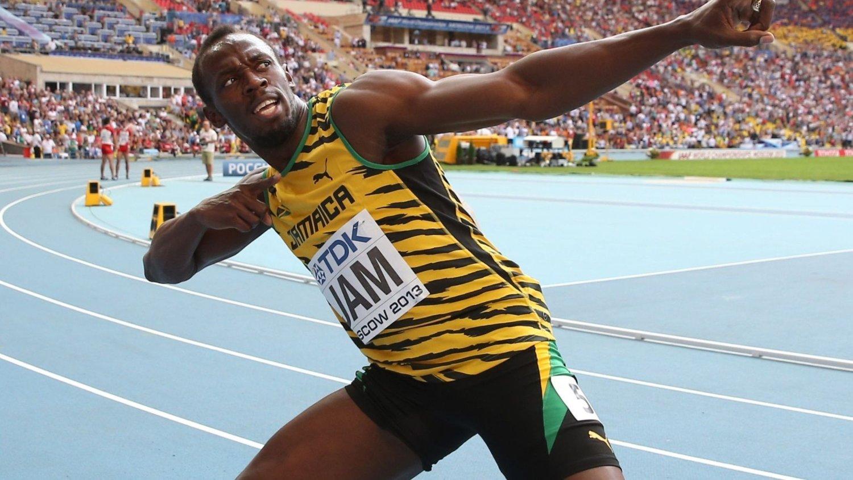 Verdens raskeste mann, Usain Bolt, lot seg virkelig imponere av den scoringen Gareth Bale avgjorde den spanske cupfinalen med.