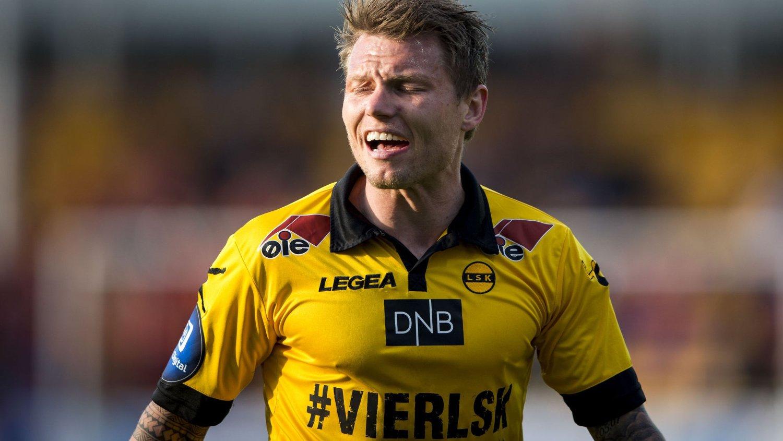 OPPGITT: Bjørn Helge Riise la ingenting imellom da han snakket om dommeren etter 0-0-kampen mot Aalesund.