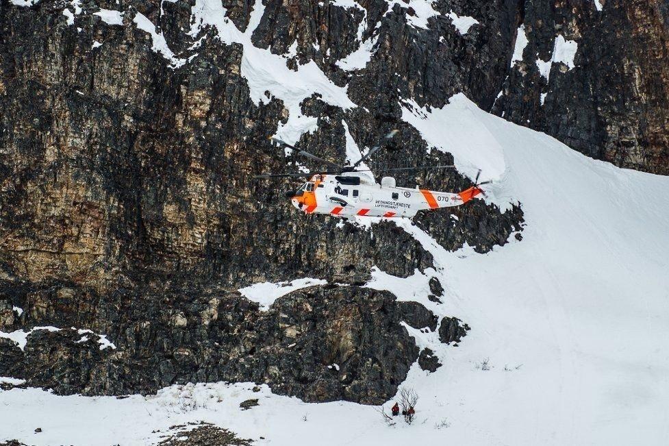 KOM SEG IKKE NED: Timeprisen på å fly Sea King-helikopter har i år budsjettert timespris på 195.000 kroner. Det viser tall fra Justisdepartementet. De totale kostnadene for helgas redningsaksjon er ikke klar.