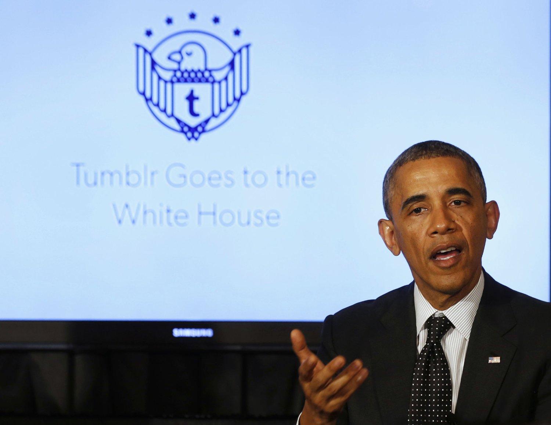 Obama deltok tirsdag på ett nettmøte i regi av populære bloggtjenesten Tumblr der han kommenterte den siste skyteepisoden.