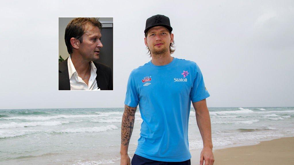 FÅR KRITIKK: Stefan Strandberg får lite sympati fra RBK-legende Roar Strand (jnnfelt).