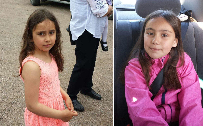 BORTFØRT: Somaja Dudaeva (t.h), født 2006, og Rajana Dudaeva (t.v), født 2007, ble bortført av maskerte menn da de var på vei hjem fra skolen tirsdag ettermiddag.