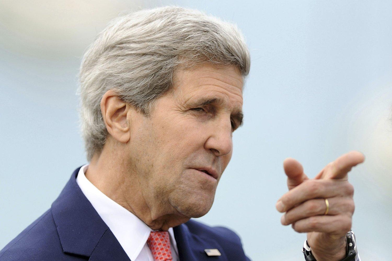 KRISEMØTE: USAs utenriksminister John Kerry har allerede diskutert situasjonen i Mosul med sin tyrkiske kollega.