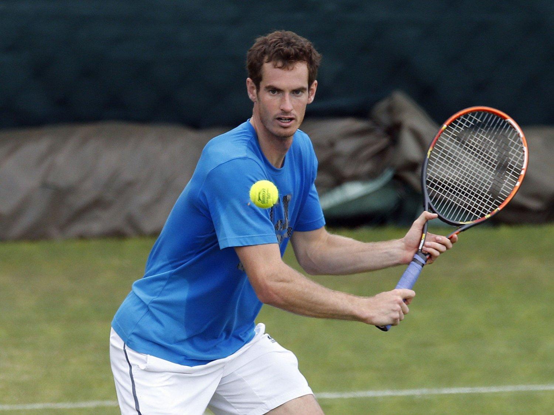 STRUTTER AV SELVTILLIT: Andy Murray har nervene i sjakk mens han jakter sin andre strake Wimbledon-triumf.